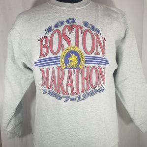 Vintage Boston Marathon Sweater